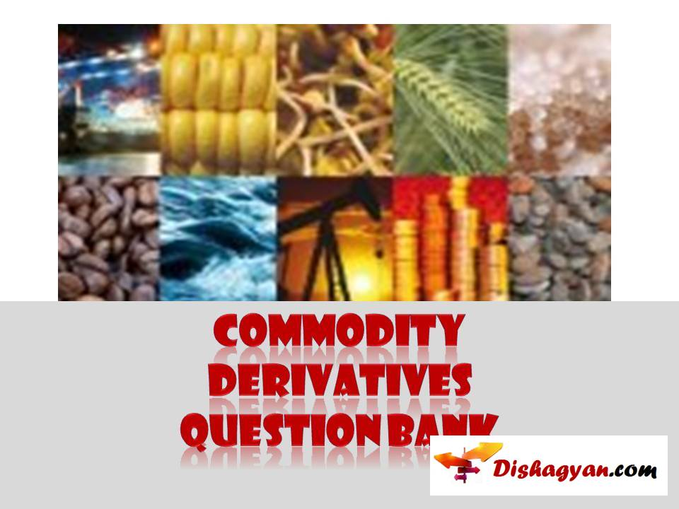 NISM commodity derivatives mock test