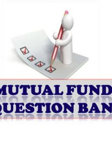 Mutual Funds Question Bank