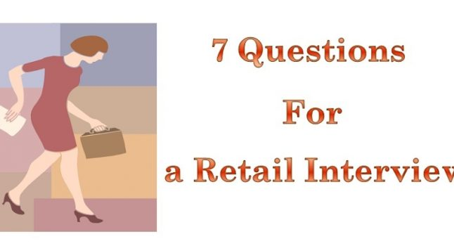 7 Typical Interview Questions for Retail jobs